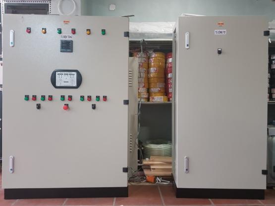 Sản xuất tủ điện 1